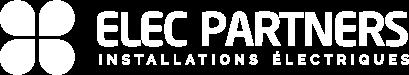 logo blanc elec partners